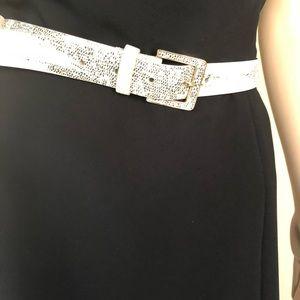 Ann Taylor animal print belt